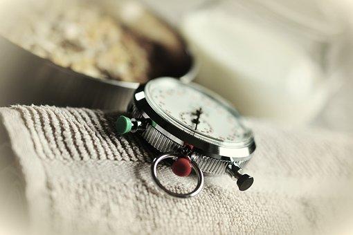 Stopwatch, Time, Stop Time, Training, Muesli, Clock