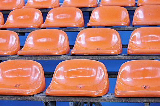 Sit, Bucket Seats, Grandstand, Viewers, Audience