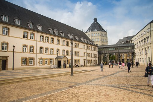 Architecture, Old, Building, City, Luxembourg, Space