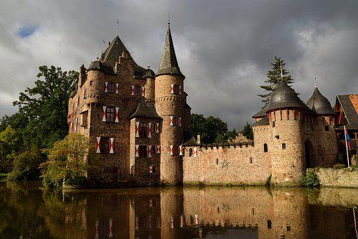 Castle, Architecture, Gothic, Old, Tower, Outdoors