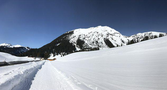 Snow, Winter, Cold, Mountain, Frozen, Hill, Panorama