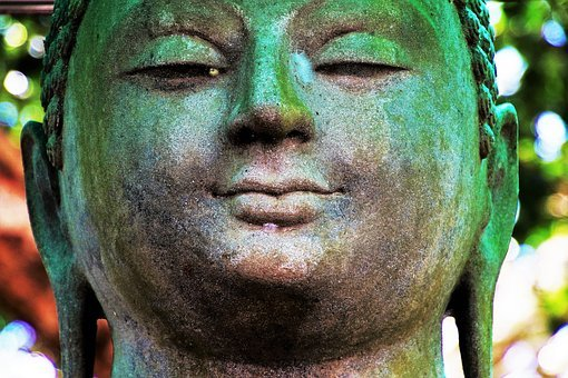 Buddha, Portrait, Face, People, One, Religion