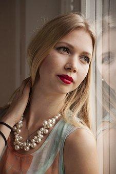 Woman, Fashion, Glamour, Beautiful, Portrait, Natural