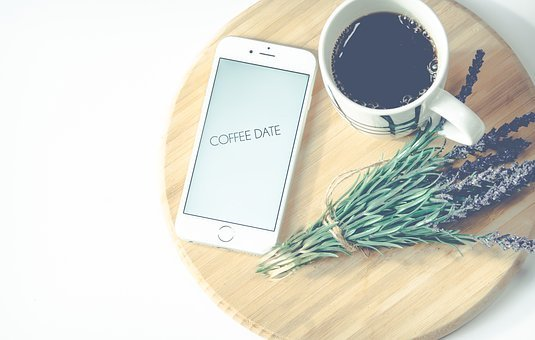 Flatlay, Background, Wallpaper, Coffee, Cup Of, Iphone