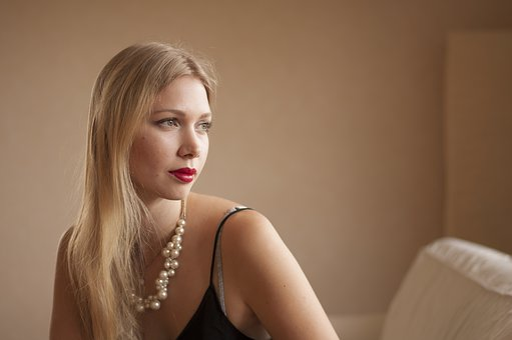 Woman, Adult, Portrait, Natural, Light, Window, Beauty