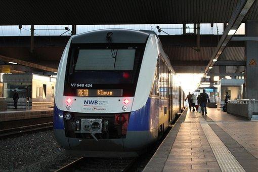 Train, Station, Transport System, Railway, Metro