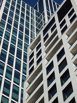 Glass, Architecture, Skyscraper, Large, Window