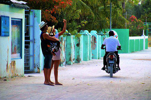 Para, Photography, Street, Adult, Maldives, Selfie