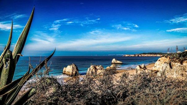 Algarve, Portugal, Sea, Water, Nature, Travel, Ocean