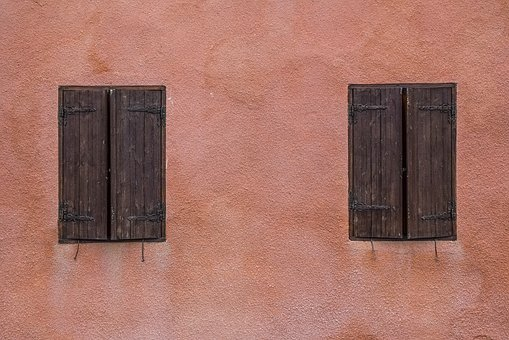 Wall, Windows, Wooden, Old, Architecture, Traditional
