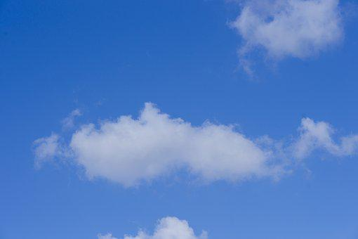 Cloud, Nature, Blue, White, Sky, High, Clouds