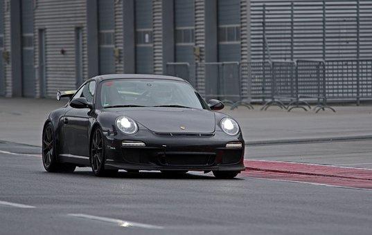 Auto, Porsche, Sports Car, Lausitzring, Race Training