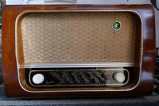 Retro, Old, Air Broadcast, Knob