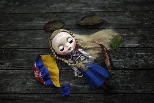 Retro, Ornament Art, Doll