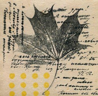 Paper, Vintage, Print, Old, Document, Letter, Message