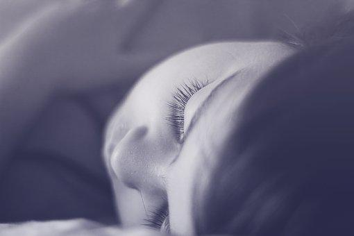 People, Portrait, Girl, Blur, Sleep, Facial Expression