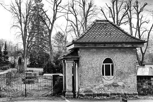 Architecture, Cottage, Old, Broken, Leave, Old Building