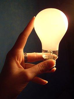 Lamp, Lightbulb, Electricity, Lit, Easy, Light, Bright