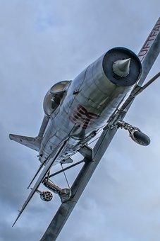 Aircraft, Flight, Military, Air