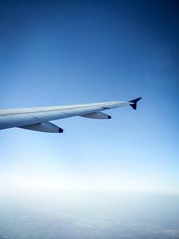 Airplane, Aircraft, Sky, Flight, Transportation System
