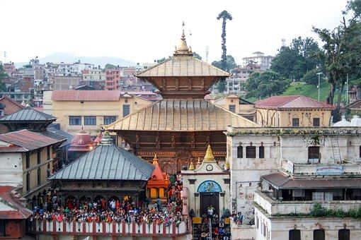 Kathmandu, Nepal, Asia, Temple, Unesco, Religion, Hindu