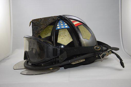 Helmet, Equipment, Safety, Fireman, Firefighter