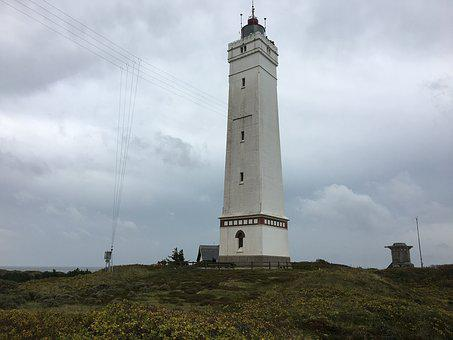 Lighthouse, Denmark Blavand, Blavandshuk Fyr, Tower