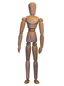 Doll, Body, Model, Wooden Doll, Wooden, Stands, Stand