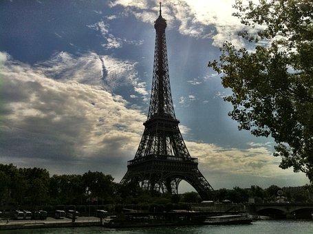 Paris, Fr, Eiffel, French, Pyramid, Architecture