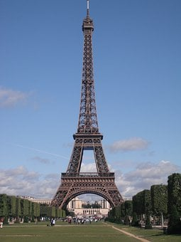 Eiffel Tower, Paris, France, Landmark, Europe, French
