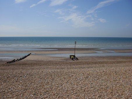 Sea, Beach, Holiday, Alone, Relax, On Foot, Sunrise