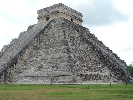 Chichen Itza, Pyramid, Mexico, Yucatan, Mayan, Ancient