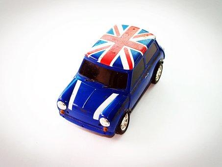 Car, Toy, Fiat, Red, Object, Sedan, Auto, Metal, New