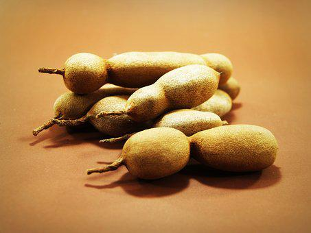 Tamarind, Isolated, Ripe, Spice, Tropical, Dessert