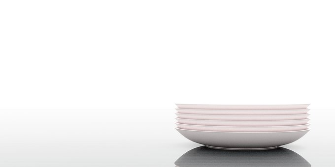 Abstract, Blank, Modern, Tableware, Background