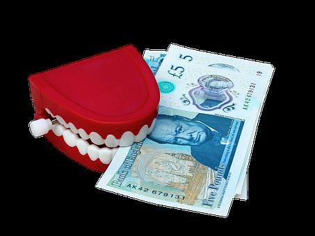 Dollar, Money, Teeth, Business, Currency, Finance, Cash