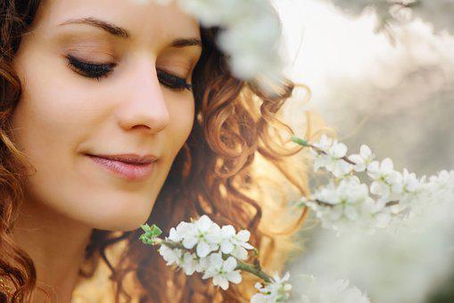 Beautiful, Nature, Woman, Flower, Girl, Attractive