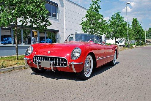 Auto, Chevrolet, Oldtimer, Cabriolet, Vehicle
