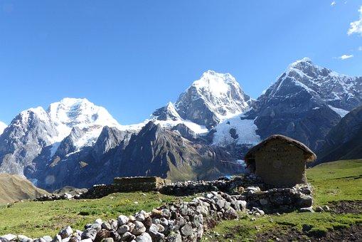 Mountain, Snow, Mountain Summit, Landscape, Nature