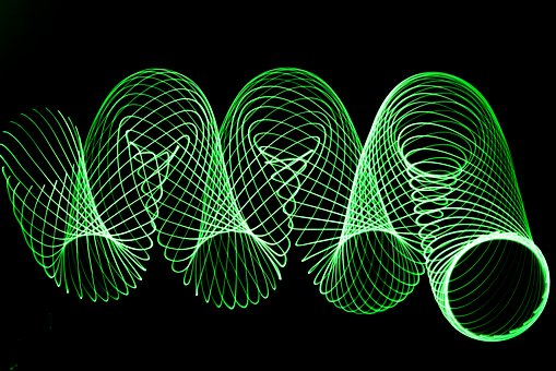 Abstract, Desktop Background, Lightpainting, Colors