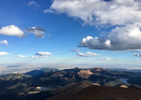 Panoramic, Mountain, Nature, Sky, Outdoors, Travel
