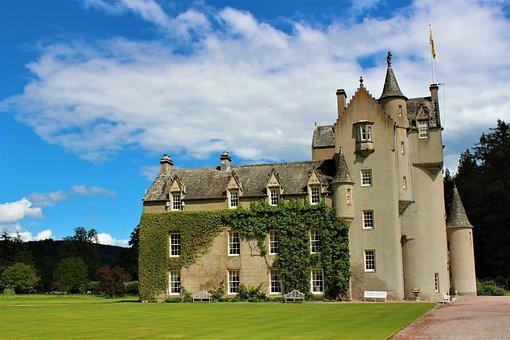 Architecture, Old, Gothic, Sky, Castle, Scotland