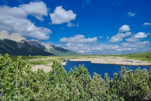 Mountains, Nature, High Tatras, Clouds, Sky, View