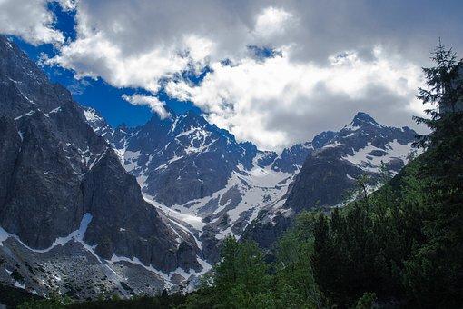 Mountains, Tatras, Nature, Sky, Clouds