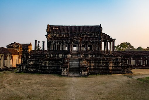Architecture, Outdoors, Old, Travel, Building, Ancient