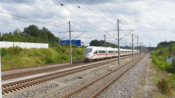 Railway Line, Train, Railway