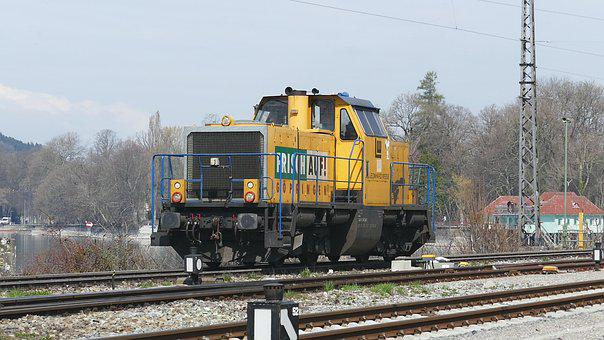 Train, Transport System, Railway, Railway Line, Motor