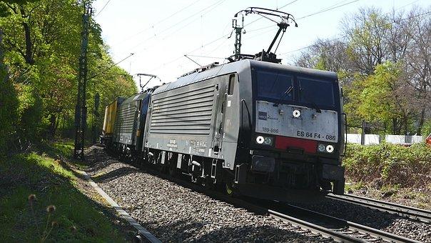 Train, Transport System, Railway, Railway Line, Travel