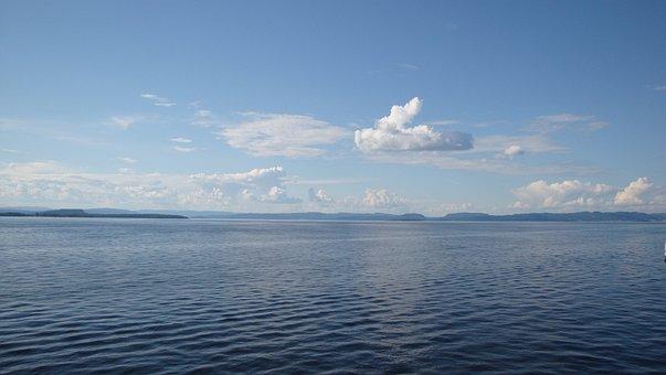 Nature, Sea, Water, Sky, Summer, Horizon, Cloud