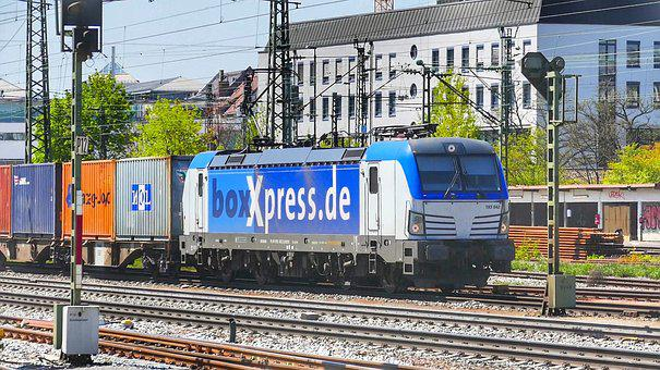 Train, Railway, Transport System, Railway Line, Station